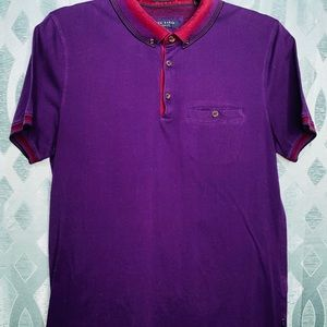 Ted Baker London Casual Slim Fit Polo - Size 3/S